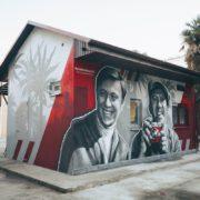 Граффити портрет Бриллиантовая рука streetskills youfeelmyskill в Сочи