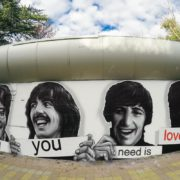 Граффити портрет The Beatles streetskills youfeelmyskill в Сочи