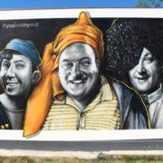 Граффити портреты streetskills youfeelmyskill