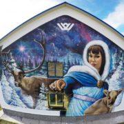 Граффити оформление роспись стен и фасадов на заказ youfeelmyskill streetskills в Москве Сочи Краснодаре