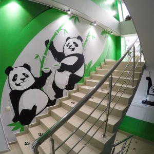 Граффити оформление роспись стен интерьеров на заказ youfeelmyskill streetskills в Москве Сочи Краснодаре