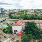 Граффити портрет Леонид Быков день победы streetskills youfeelmyskill в Сочи