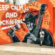 граффити оформление художественная роспись стен фасадов зданий в Москве на заказ