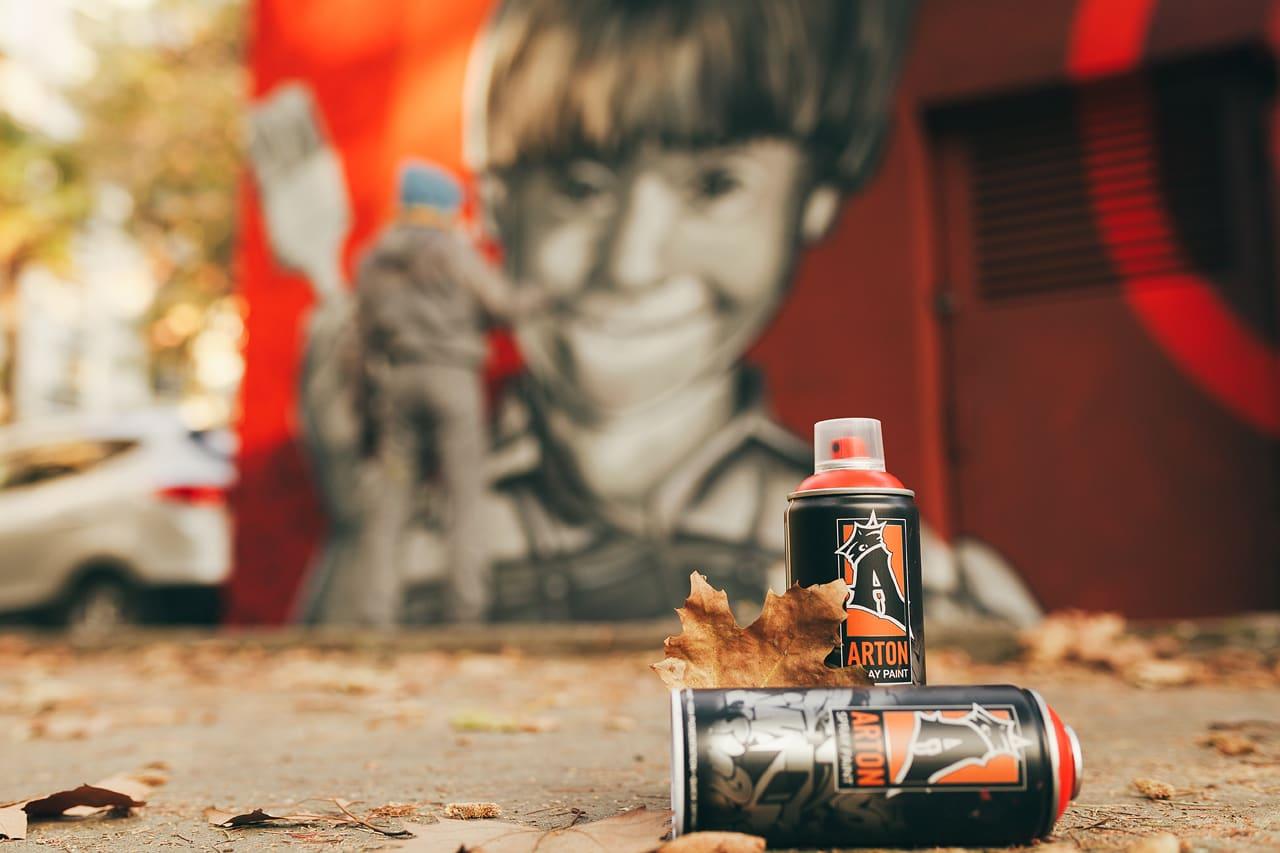 Краска для граффити Артон