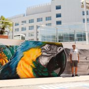Отель Имеретинский в Сочи граффити